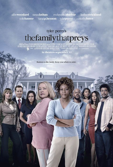 Kathy Bates, Sanaa Lathan, Alfre Woodard, Rockmond Dunbar, and KaDee Strickland in The Family That Preys (2008)