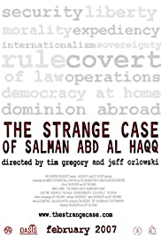 The Strange Case of Salman abd al Haqq Poster