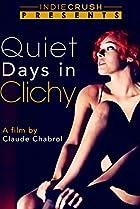 Jours tranquilles à Clichy (1990) Poster