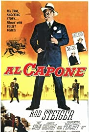 Al Capone (1959) Poster - Movie Forum, Cast, Reviews