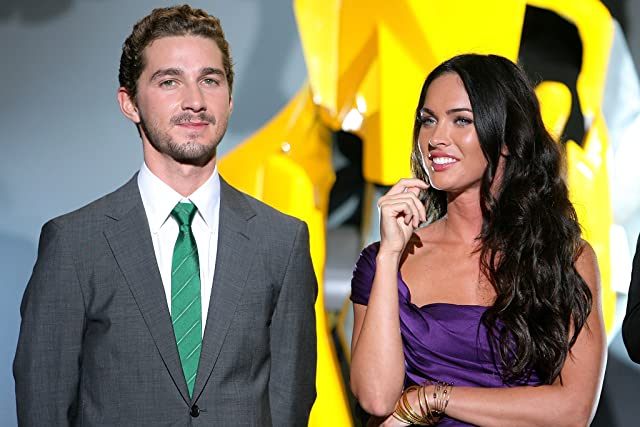 Shia LaBeouf and Megan Fox at an event for Transformers: Revenge of the Fallen (2009)