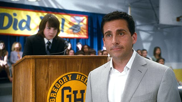 Steve Carell and Jonah Bobo in Crazy, Stupid, Love. (2011)