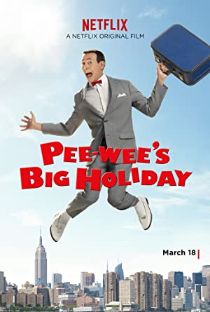 Poster Pee-wee's Big Holiday