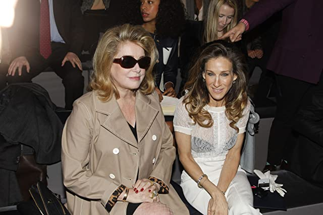 Catherine Deneuve and Sarah Jessica Parker