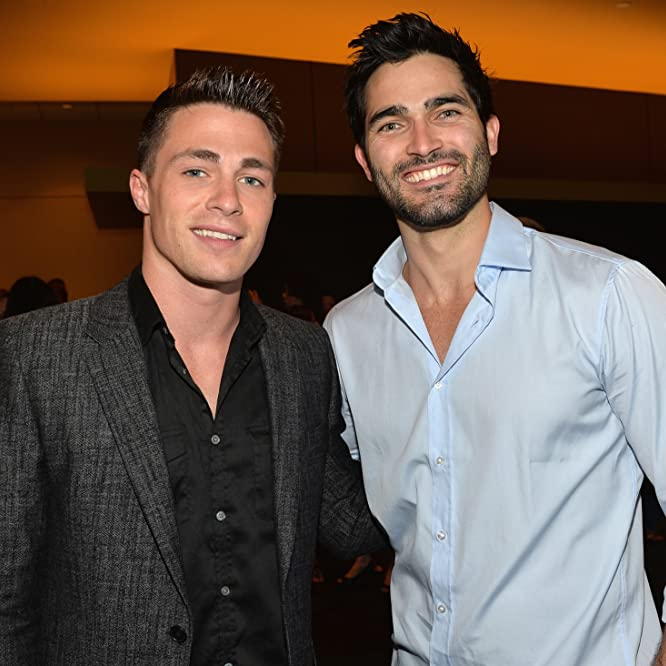 Tyler Hoechlin and Colton Haynes