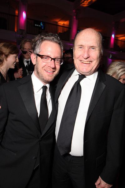 Robert Duvall and Rob Carliner at event of The 82nd Annual Academy Awards