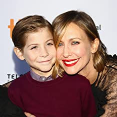Vera Farmiga and Jacob Tremblay at an event for Burn Your Maps (2016)
