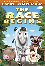 The Race Begins Poster