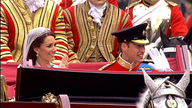 Prince William and Catherine Duchess of Cambridge in The Royal Wedding (2011)