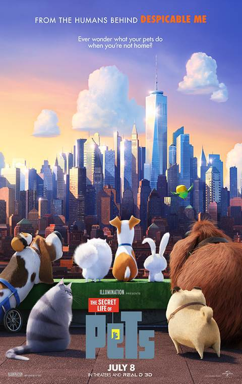 The Secret Life of Pets (2016)   Cover