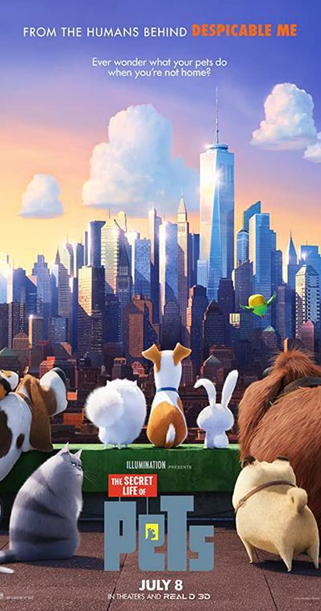 the secret life of pets 2016   imdb