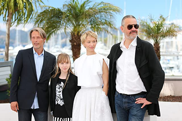 Delphine Chuillot, Arnaud des Pallières, Mads Mikkelsen, and Mélusine Mayance at an event for Age of Uprising: The Legend of Michael Kohlhaas (2013)