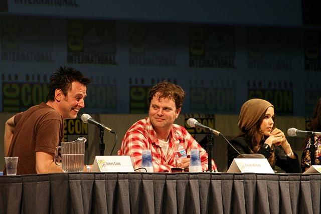 James Gunn, Ellen Page, and Rainn Wilson