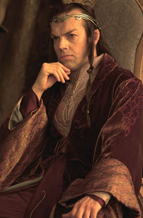Hugo Weaving in The Lord of the Rings: The Fellowship of the Ring (2001)