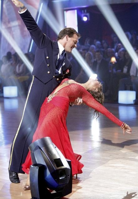 Chris Jericho and Cheryl Burke in Dancing with the Stars (2005)