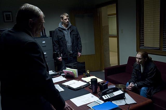 Garry Chalk, Mireille Enos, and Joel Kinnaman in The Killing (2011)