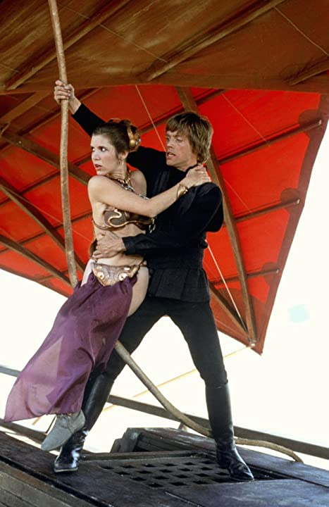 Carrie Fisher and Mark Hamill in Star Wars: Episode VI - Return of the Jedi (1983)
