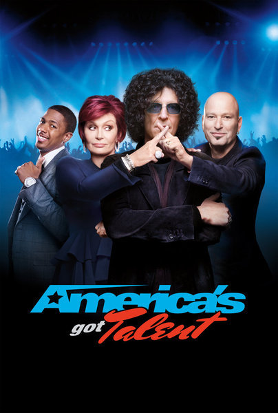 Howard Stern, Howie Mandel, Nick Cannon, and Sharon Osbourne in America's Got Talent (2006)