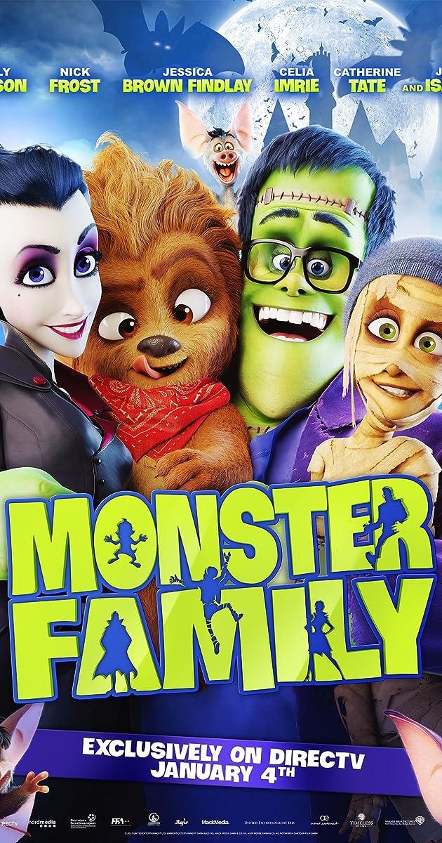 Monstrų šeimynėlė / Family (2017)