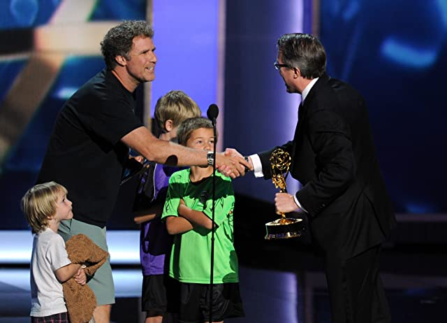 Will Ferrell and Vince Gilligan at The 65th Primetime Emmy Awards (2013)
