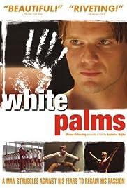 Fehér tenyér Poster