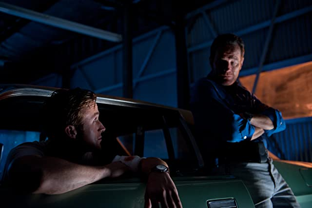 Bryan Cranston and Ryan Gosling in Drive (2011)