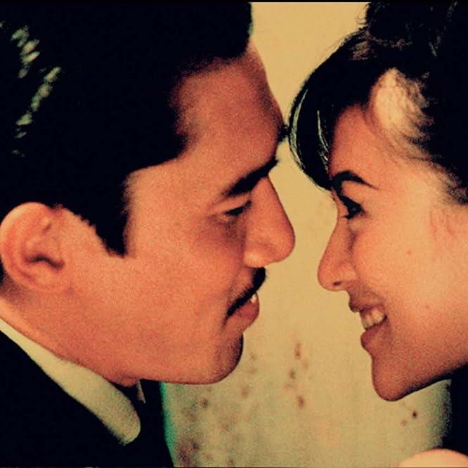Tony Leung Chiu-Wai and Ziyi Zhang in 2046 (2004)