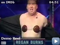 regan burns oblivious game show