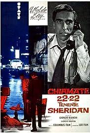 Chiamate 22-22 tenente Sheridan Poster