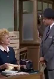 Lucy Takes a Job at the Bank Poster