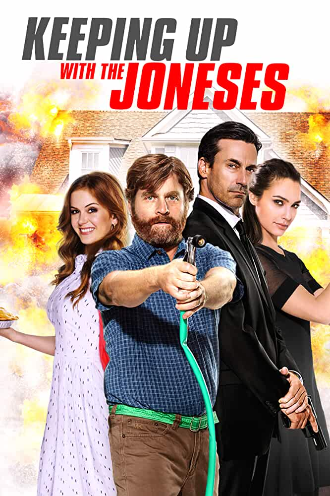 Keeping Up With The Joneses 2016 720p BRRip English Online Free Download