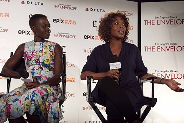 Alfre Woodard and Lupita Nyong'o at an event for 12 Years a Slave (2013)