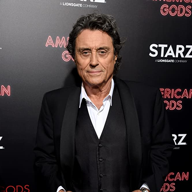 Ian McShane at an event for American Gods (2017)