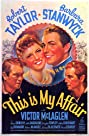 This Is My Affair (1937) Poster