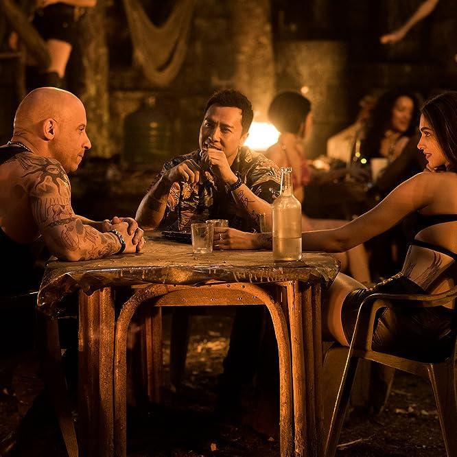 Vin Diesel, Donnie Yen, and Deepika Padukone in xXx: Return of Xander Cage (2017)