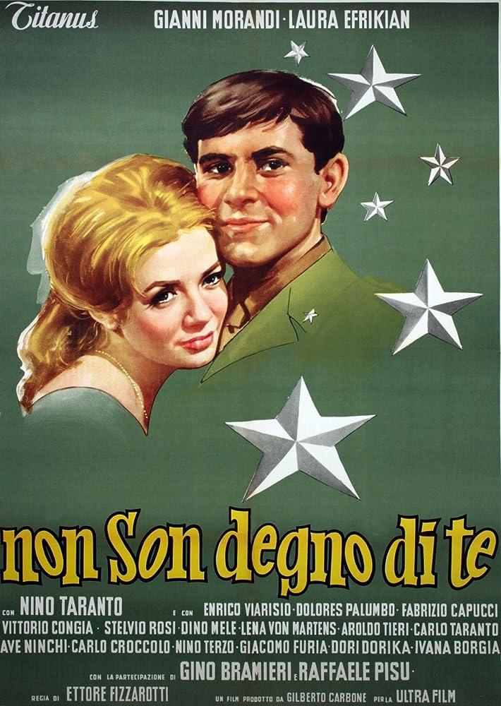 Risultati immagini per NON SON DEGNO DI TE ( 1965 ) POSTER