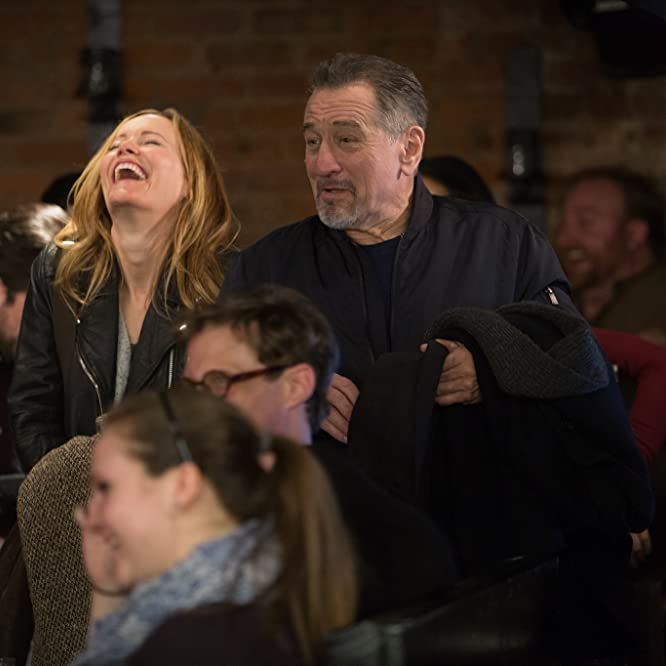 Robert De Niro and Leslie Mann in The Comedian (2016)