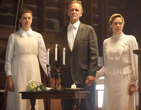 Perry Mattfeld, Sam Hennings and Mary McCormack 'Escape From Polygamy'