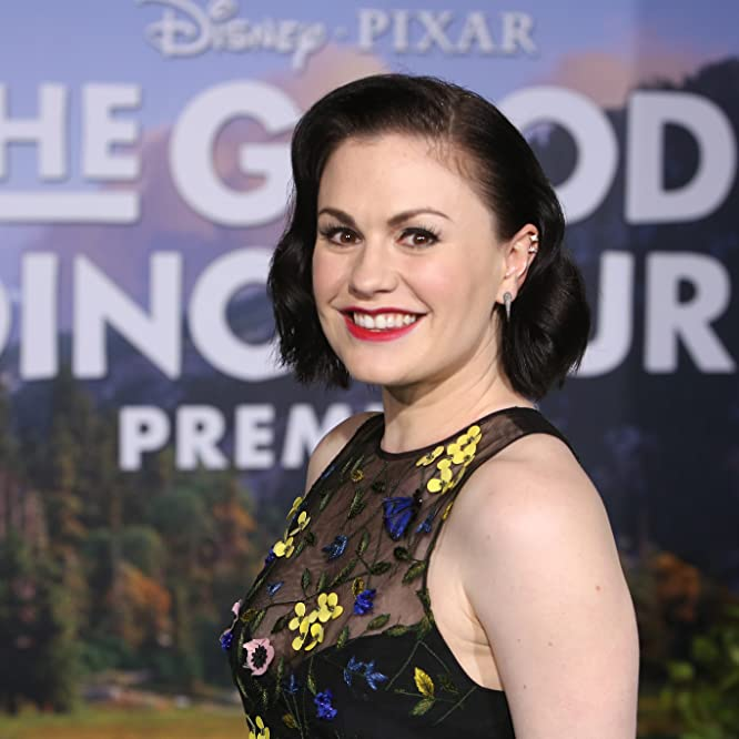 Anna Paquin at an event for The Good Dinosaur (2015)