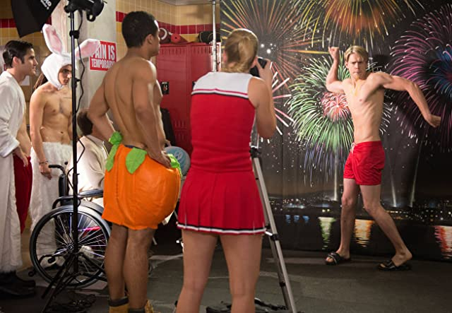 Chord Overstreet and Heather Morris in Glee (2009)