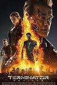 Arnold Schwarzenegger, Jason Clarke, Jai Courtney, and Emilia Clarke in Terminator Genisys (2015)