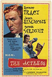 The Actress (1953) Poster - Movie Forum, Cast, Reviews