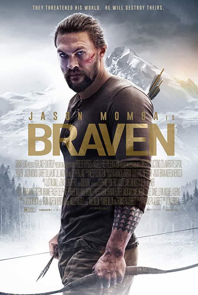 Braven 2018 Full English Movie 480p WEB-DL 300MB