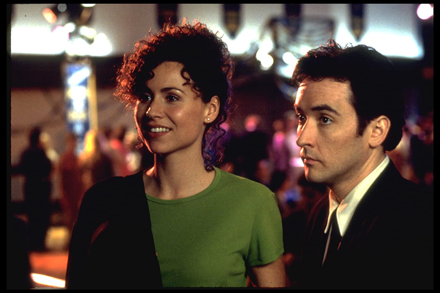 John Cusack and Minnie Driver in Grosse Pointe Blank (1997)
