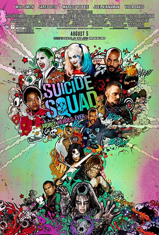 Suicide Squad 2016 720p HC HDRip English Watch Online Free Download at Movies365