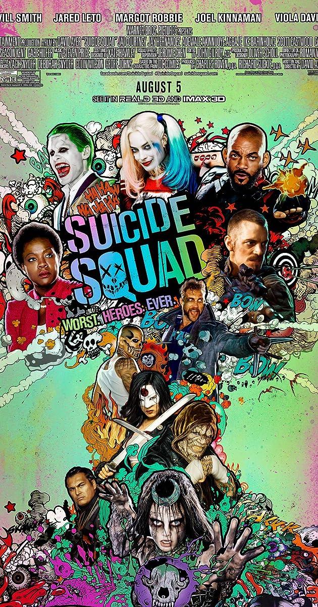 Savižudžių būrys / Suicide Squad (2016)