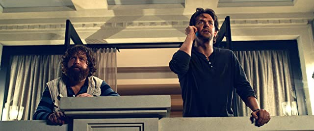Bradley Cooper and Zach Galifianakis in The Hangover Part III (2013)