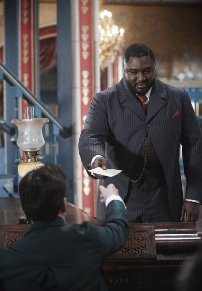 Jonathan Rhys Meyers and Nonso Anozie in Dracula (2013)