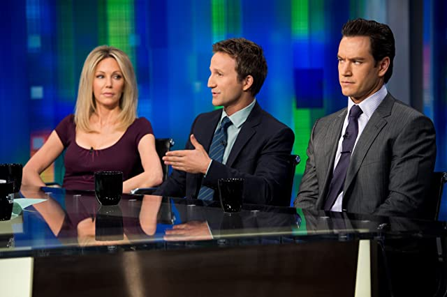 Heather Locklear, Mark-Paul Gosselaar, and Breckin Meyer in Franklin & Bash (2011)