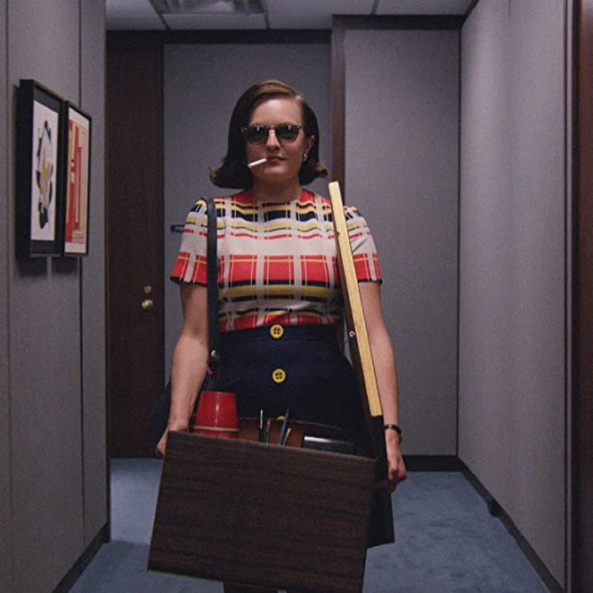 Elisabeth Moss in Mad Men (2007)